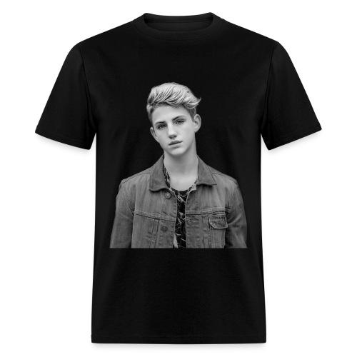 Unisex MattyB BW Faceprint - Men's T-Shirt