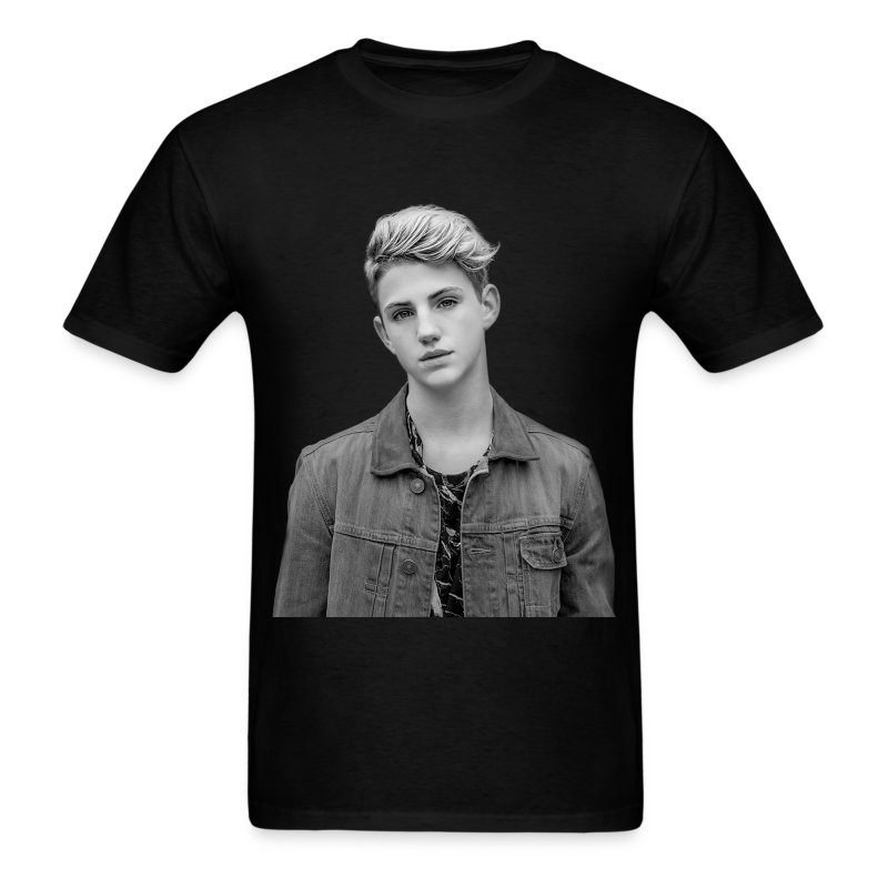 Unisex MattyB BW Faceprint - Men's T-Shirt