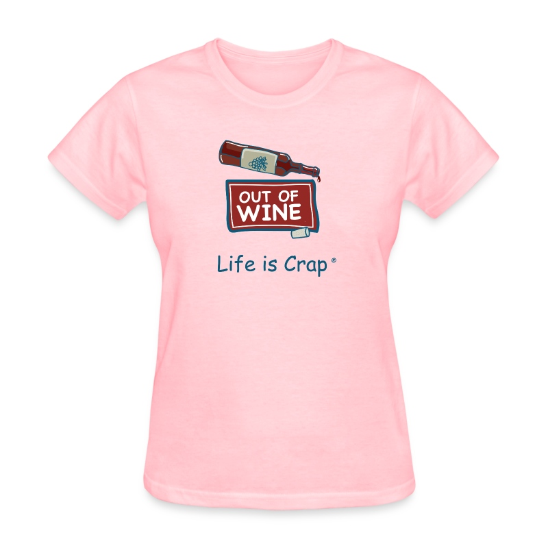 out of wine bottle t shirt spreadshirt