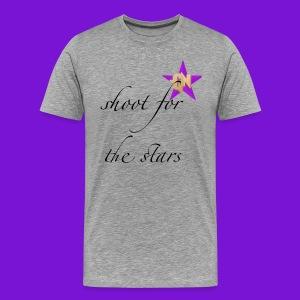 shoot for the stars t-shirt men - Men's Premium T-Shirt