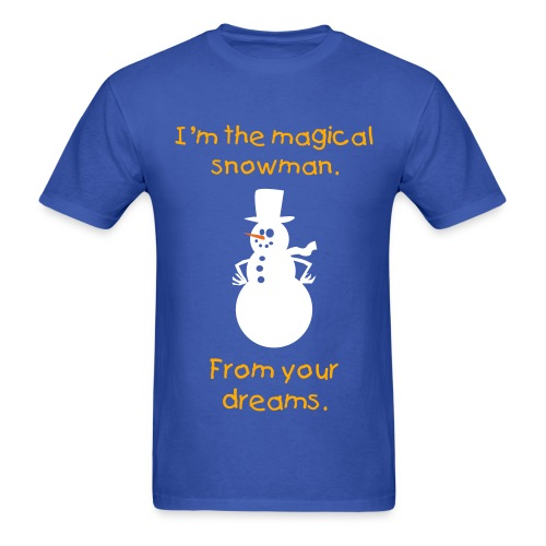 Magical Snowman - Men's T-Shirt