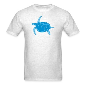 animal t-shirt sea turtle scuba diving diver marine endangered species - Men's T-Shirt