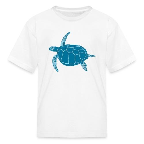 animal t-shirt sea turtle scuba diving diver marine endangered species - Kids' T-Shirt