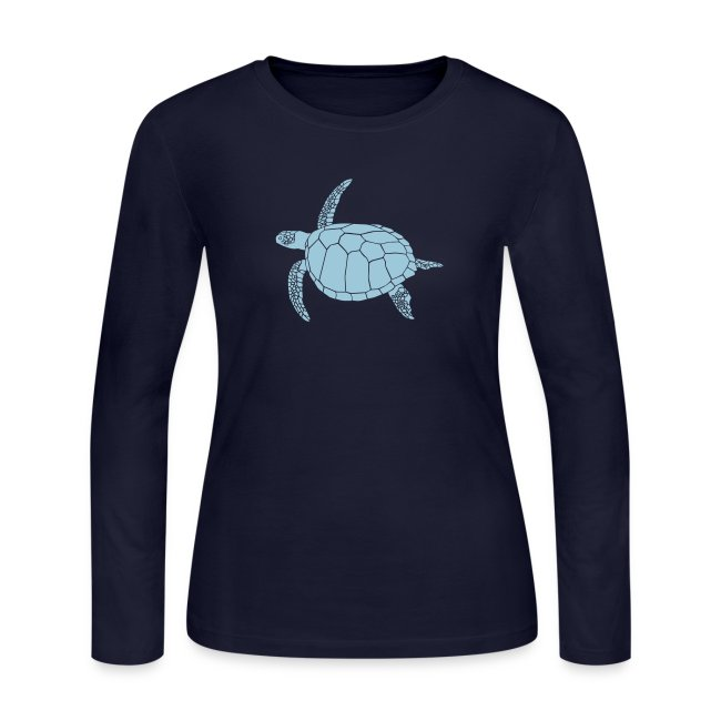 animal t-shirt sea turtle scuba diving diver marine endangered species