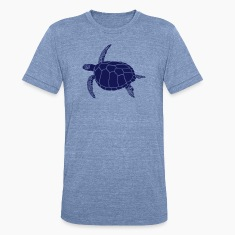 sea turtle scuba diving coral reef T-Shirts