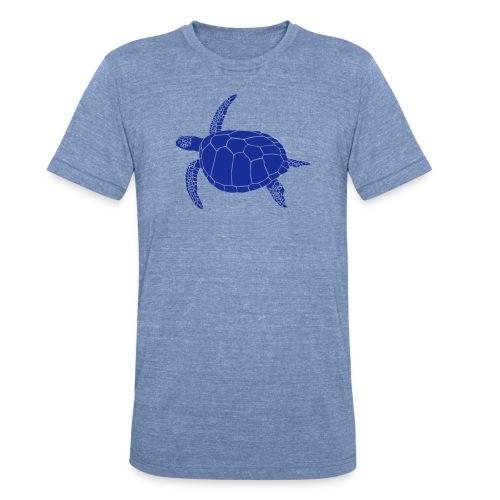 animal t-shirt sea turtle scuba diving diver marine endangered species - Unisex Tri-Blend T-Shirt