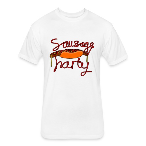 Sausage party - Fitted Cotton/Poly T-Shirt by Next Level