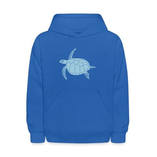 animal t-shirt sea turtle scuba diving diver marine endangered species - Kids' Hoodie