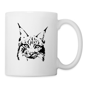 animal t-shirt lynx cougar puma jaguar cat wild predator tiger lion cheetah - Coffee/Tea Mug