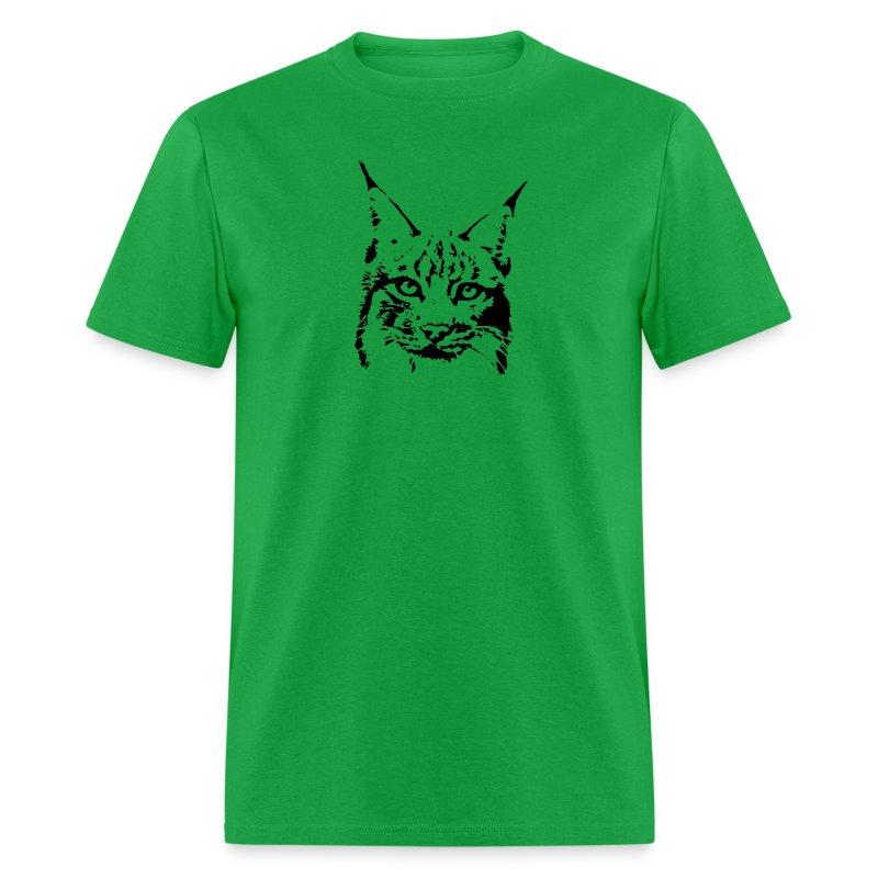 animal t-shirt lynx cougar puma jaguar cat wild predator tiger lion cheetah - Men's T-Shirt