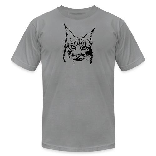 animal t-shirt lynx cougar puma jaguar cat wild predator tiger lion cheetah - Men's Fine Jersey T-Shirt