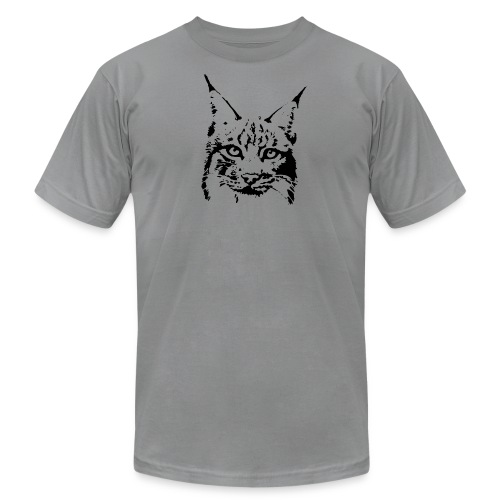 animal t-shirt lynx cougar puma jaguar cat wild predator tiger lion cheetah - Men's Fine Jersey T-Shirt