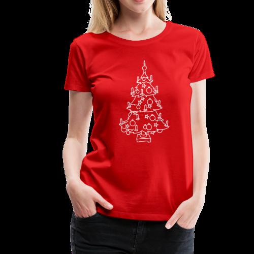 CHRISTMAS TREE - Women's Premium T-Shirt