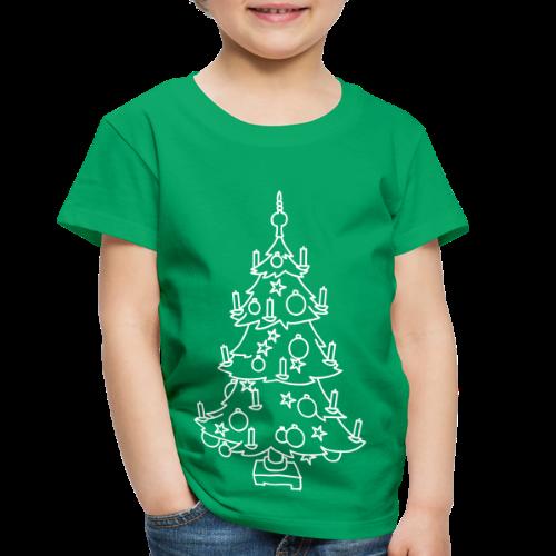 CHRISTMAS TREE - Toddler Premium T-Shirt