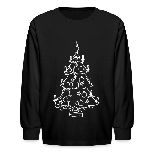 CHRISTMAS TREE - Kids' Long Sleeve T-Shirt