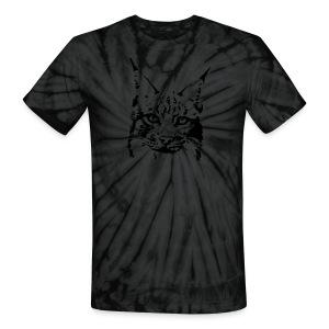 animal t-shirt lynx cougar puma jaguar cat wild predator tiger lion cheetah - Unisex Tie Dye T-Shirt