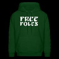Hoodies ~ Men's Hoodie ~ Free Foles Shirt