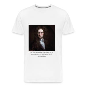 Men's - Isaac Newton - Men's Premium T-Shirt