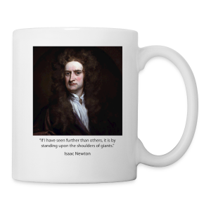 Isaac Newton - Coffee/Tea Mug