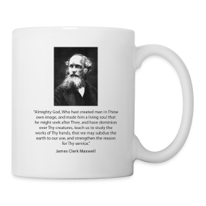 James Clerk Maxwell - Coffee/Tea Mug