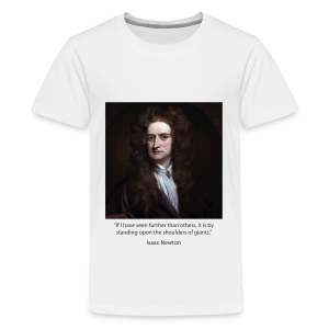 Kid's - Isaac Newton - Kids' Premium T-Shirt