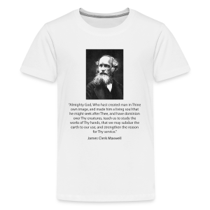 Kid's - James Clerk Maxwell - Kids' Premium T-Shirt