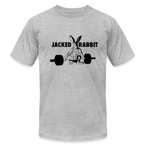 Jacked Rabbit Men's Tee - Men's Fine Jersey T-Shirt