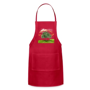 Proud to Have Served Law Enforcement Apron - Adjustable Apron