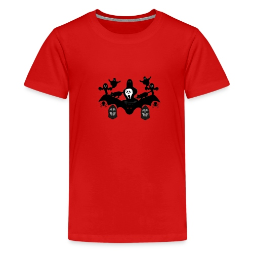Kids' Premium T-Shirt - witch,horror,ghosts,ghost