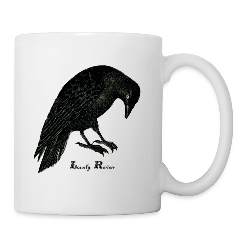 Coffee/Tea Mug - raven. crow,lonely,horror,alone