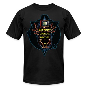 Destroy Digital Deities - Men's Fine Jersey T-Shirt