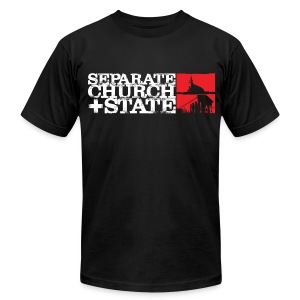 Separate Church and State - Men's Fine Jersey T-Shirt