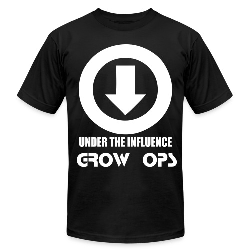 GROW OPS: UNDER THE INFLUENCE - Men's Fine Jersey T-Shirt