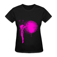 T-Shirts ~ Women's T-Shirt ~ GIRL FIREWORK T-Shirt