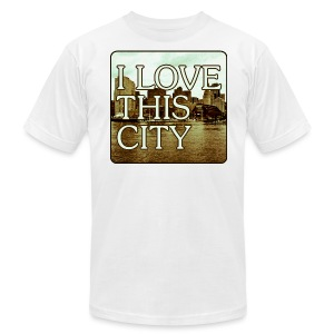 I Love This City - Men's Fine Jersey T-Shirt