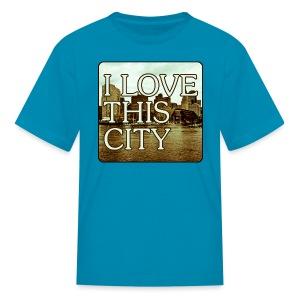 I Love This City - Kids' T-Shirt