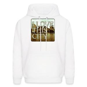 I Love This City - Men's Hoodie