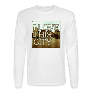 I Love This City - Men's Long Sleeve T-Shirt