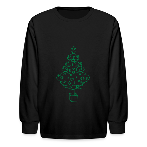 CHRISTMAS TREE 2 - Kids' Long Sleeve T-Shirt
