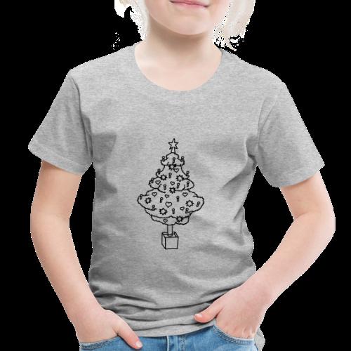 CHRISTMAS TREE 2 - Toddler Premium T-Shirt