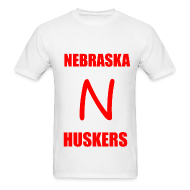 T-Shirts ~ Men's T-Shirt ~ HUSKERS T-Shirt