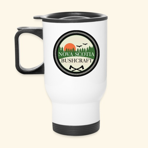 White Stainless Steel Travel Mug - Travel Mug