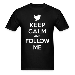 Keep Calm And Follow Me  Men - Men's T-Shirt
