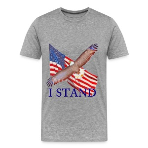 Stand for America  - Men's Premium T-Shirt