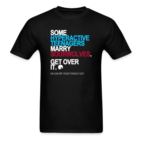 Some Teenagers Marry Sourwolves Men's - Men's T-Shirt