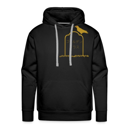 Golden Crow basic hoodie - Men's Premium Hoodie