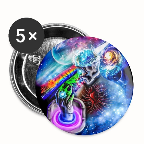 :2nd End; Earth Enlightenment - Small Buttons
