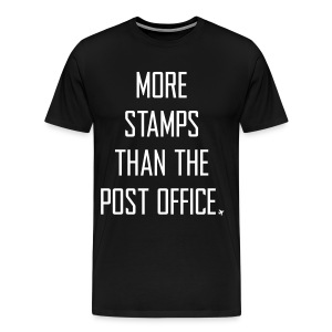 More stamps than the post office - Men's Premium T-Shirt