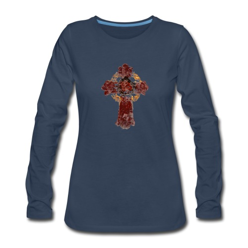 Cross_04PNG - Women's Premium Long Sleeve T-Shirt
