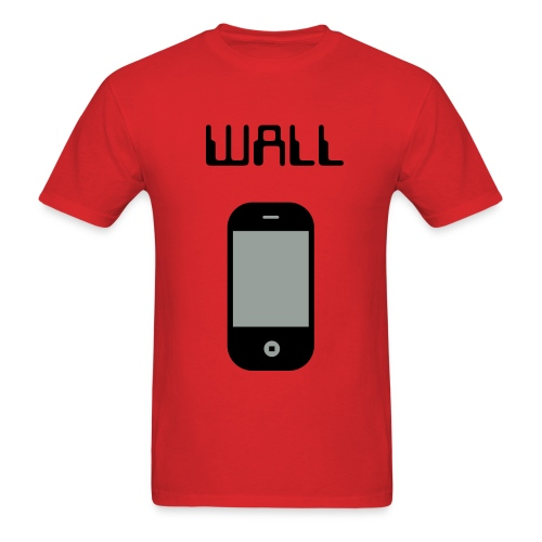Wall Phone ShortCut T-Shirt - Men's T-Shirt